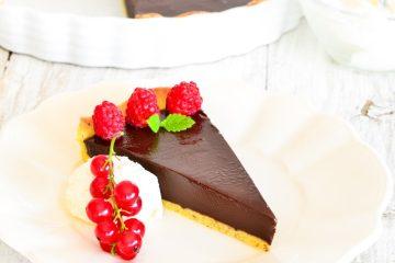 Čokoladni ganache tart