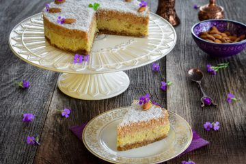 Lanina raw torta od kokosa i badema
