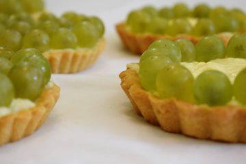 Mini tartovi s grožđem