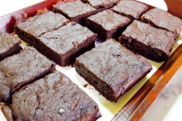 Zdravi(ji) browniesi s tikvicama