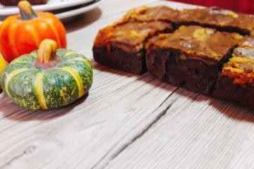 Brownies s bundevom i sirom