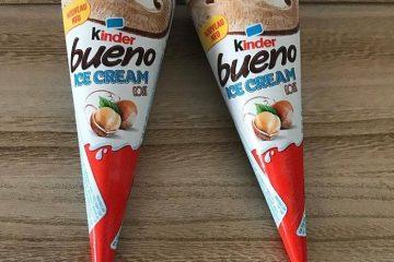 Kinder stvorio liniju sladoleda