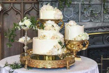 Svadbena torta koja je obilježila britansko vjenčanje godine
