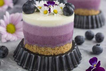 Borovnica mini cheesecake