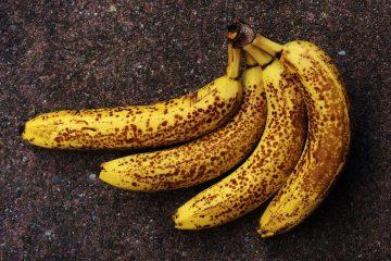 Što s prezrelim bananama?