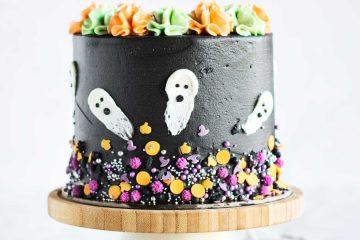 Halloween Oreo torta