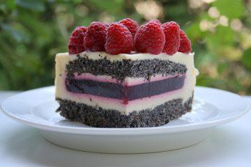 Torta od maka, malina i vanilije