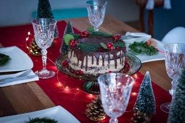 Božićna torta od oraha
