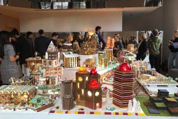 Grad medenjaka u Londonu: slatka izložba arhitektonskih ostvarenja