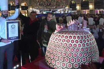 Panettone za povijest: u Milanu napravljen panettone težak više od 330 kilograma