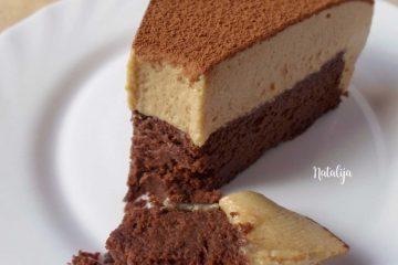 Čokoladna mousse torta s kavom (bez brašna)