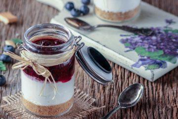 Borovnica cheesecake