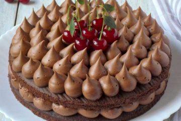 Ultra čokoladna torta s višnjama