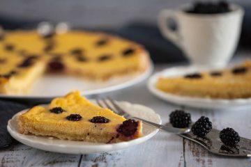 Cheesecake tart s kupinama