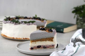 Torta od borovnica i vanilije