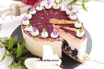 Torta od sira s kupinama