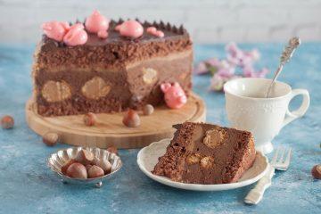 Alicina torta od lješnjaka i čokolade