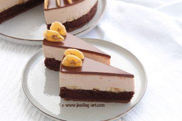 Torta od sira s bananama