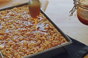 Karamel cheesecake s jabukama