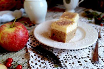 Kolač od jabuka i kreme od vanilije