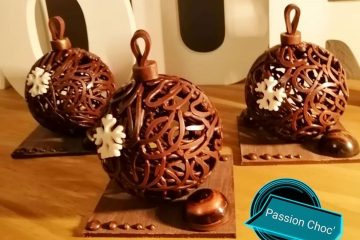Najslađi ukrasi za bor: kuglice od čokolade