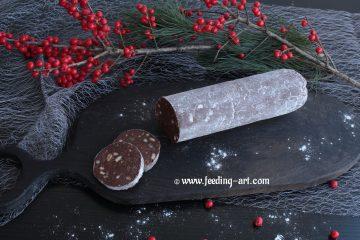 Salama s čokoladom i orasima