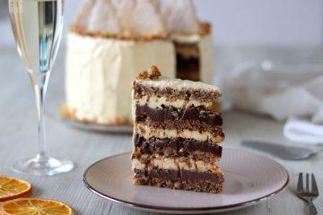 Bogata novogodišnja torta