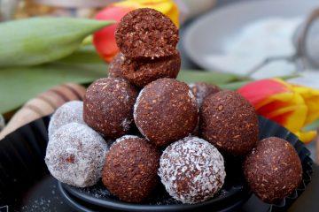 Kakao kuglice s maslacem od kikirikija