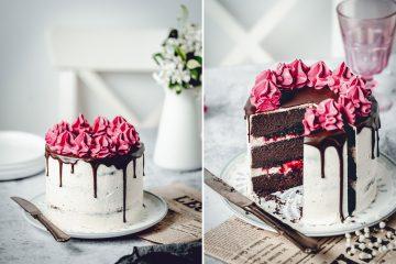 Čokoladna brownie torta s višnjama