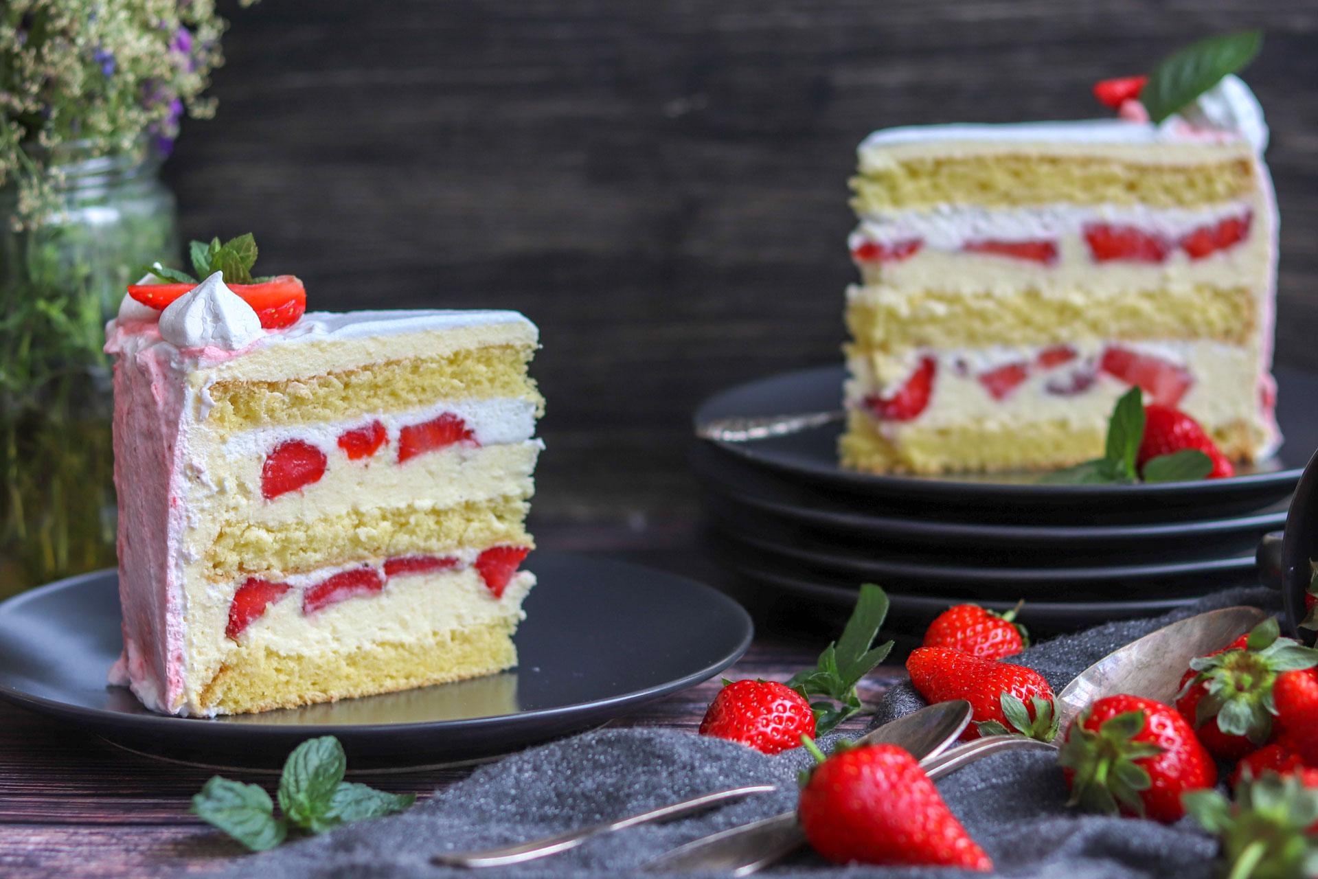 Torta s jagodama • Slatkopedija