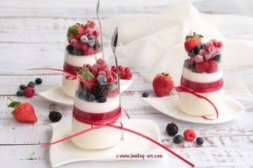 Troslojni desert u čaši