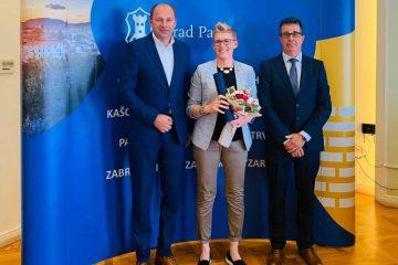 Alida Vadanjel dobila zahvalnicu Grada Pazina za promociju pazinskog cukerančića