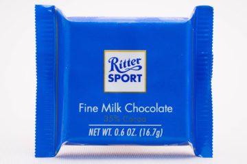 Sudski spor zbog oblika čokolade: Ritter Sport pobijedio Milku