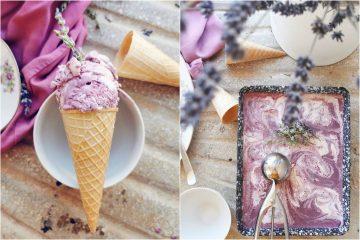 Sladoled od lavande i jogurta