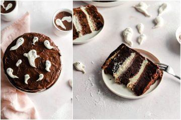 Čokoladna Halloween torta