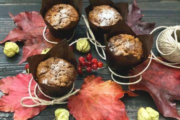 Integralni muffini s jabukama i bademima