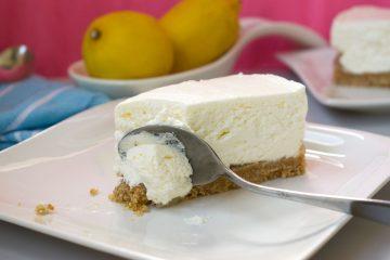 Torta cheesecake s limunom