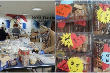 Dalmatinci slatkim paketićima i ohrabrujućim porukama poslali podršku žrtvama potresa i volonterima