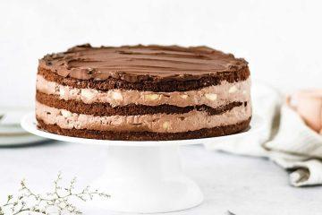 Nestaje brzinom munje: čokoladna torta s bananama