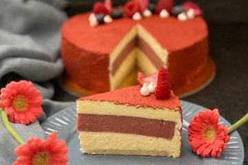 Proslave novih uspjeha bit će slađe uz ovu entermet tortu od malina i bijele čokolade