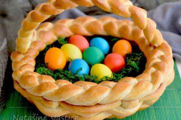 Uz recept i video Nataše Pralice napravite najslađu košaru za Uskrs