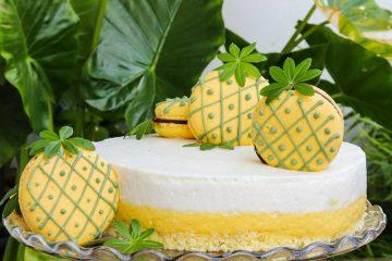 Najslađe ljetno osvježenje: isprobajte recept za pjenastu tortu s kokosom i ananasom