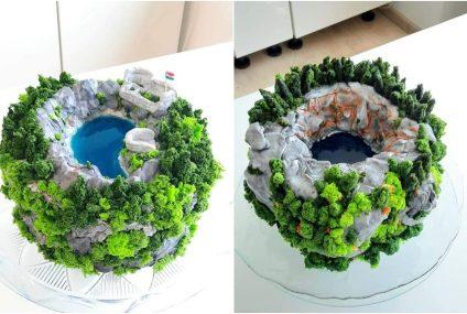 Čarobna imotska jezera u najslađem izdanju: evo kako su nastale ove posebne torte