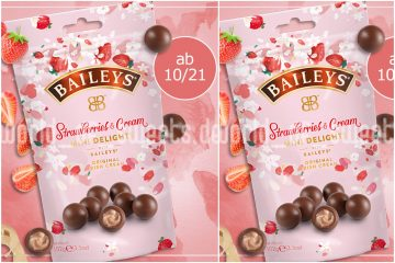Ljubitelji jagoda, ovo je vijest za vas: stižu Baileys čokolade s jagodama