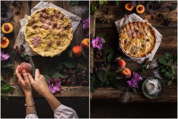 Kakva kombinacija: osvojit će vas ova pita s breskvama i kupinama