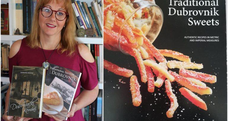 Jadranka Ničetić samo za Slatkopediju otkriva sve o svojoj novoj knjizi Traditional Dubrovnik Sweets