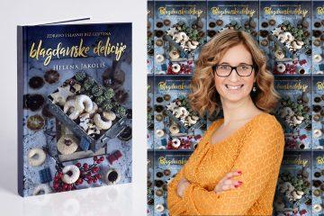 Blagdanske delicije s humanitarnim karakterom: Helena Jakoliš prodajom kuharice pomaže malenoj Kiari